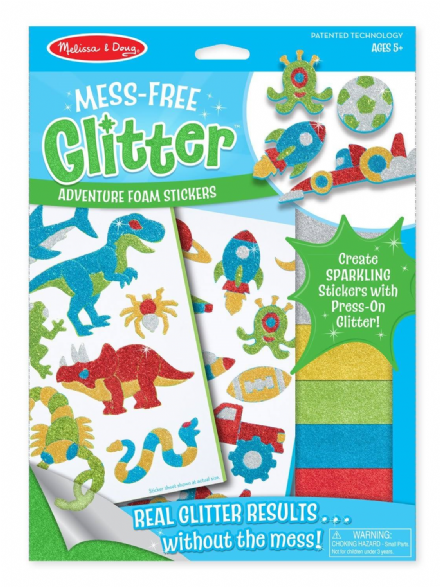 Melissa & Doug Mess-Free Glitter Adventure Art Set
